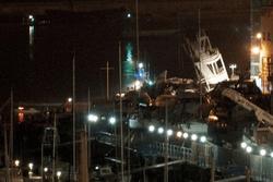 крушение судна в Италии