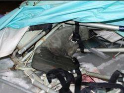 Под Одессой насмерть разбился дельтапланерист на самодельном аппарате