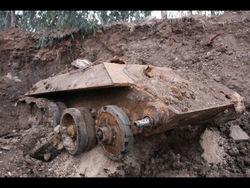 Танк Т-34 нашли в котловане на стройке в... Израиле