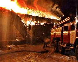 Поджег дома в Луганске