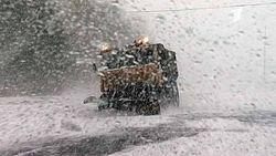 Снежный циклон ударил по центральным и южным регионам России