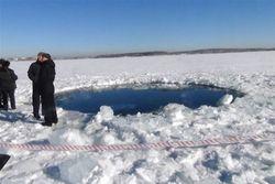 Челябинский метеорит достанут из озера Чебаркуль уже в этом году