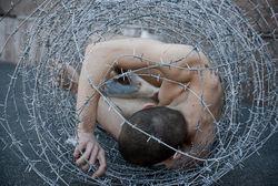 PR, эротика и социальный протест: обнаженное тело в колючей проволоке