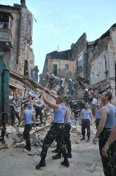 Для ликвидации последствий урагана в Одессе, на улицы вывели войска