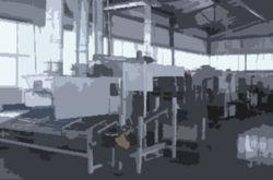 В Ростове горит завод, выпускающий технологическое оборудование