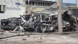 Спецслужбы ищут девушку, запечатленную камерами при взрыве в Махачкале