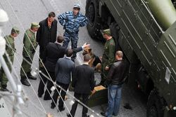 Боевую технику на параде в Москве проверяли ФСБ
