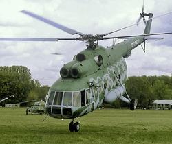 Ми-8 упал в Перу