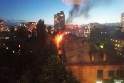 """Общежитие НТУУ """"КПИ"""" пылало пожаром   - последствия"""
