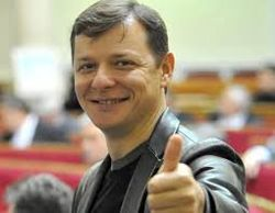 Олег Ляшко живет в женой Роситой в гражданском браке