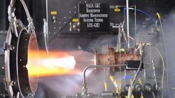 NASA провело испытания реактивного двигателя с напечатанным инжектором