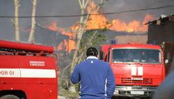 Последствия пожара на складе пиротехники в Новокузнецке