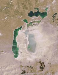 Экологи: казахская часть Аральского моря восстановится, узбекская – нет