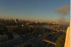 Два мощных взрыва потрясли центр Дамаска