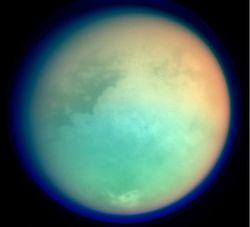 Ученые определили характер поверхности Титана - спутника Сатурна