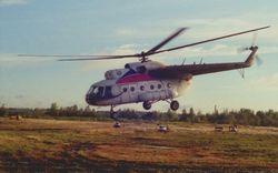 В Казахстане исчез вертолет с пассажирами на борту