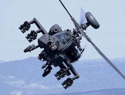 В штате Техас армейский «Апач» уронил учебную ракету