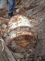 В Черкассах на набережной нашли контейнер с радиацией внутри