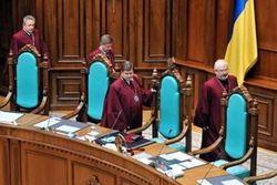 КС устранился от спорного решения ВАСУ лишения мандатов Балоги и Домбровского