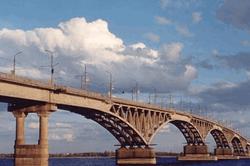 Старый мост в Астрахани