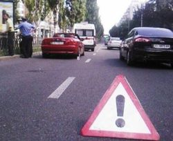 В центре Киева BMW-кабриолет насмерть сбил женщину