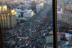 """Москва встала в многокилометровых пробках сегодня утром – """"Яндекс.Пробки"""""""