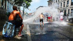 Аномальная жара убивает жителей и туристов в Нью-Йорке