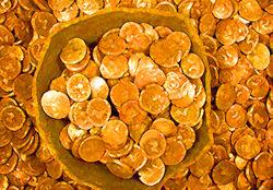 750 кг монет, спрятанных 2000 лет назад, нашли на острове Джерси