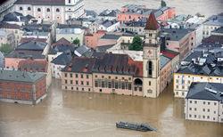 В зону затопления попала Словакия, Дунай угрожает Братиславе