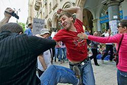 В избиении тбилисских геев обвиняют Иисуса Христа
