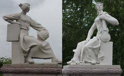 Под Екатеринбургом нашли забытые скульптуры Эрнста Неизвестного