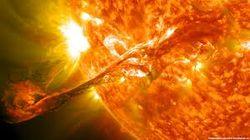 Четвертая  вспышка на Солнце за трое суток - последствия для здоровья