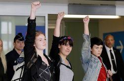 Femen рассказали физическом и психологическом давлении в тюрьме Туниса