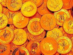 Доллар снижается – золото дорожает