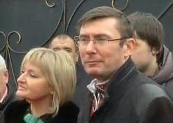 Первый день Юрия Луценко на свободе, - итоги