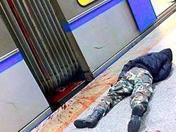 "ЧП в метро Киева: погиб ""зацепер"", катающийся между вагонами"