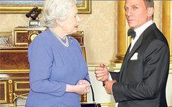 Елизавета II сама напросилась сняться в роли подружки агента 007
