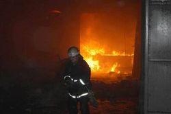 В Херсоне произошло возгорание хлопчатобумажного комбината