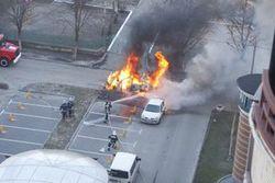 В Ставрополье взорвали автомобиль бизнесмена, есть жертвы