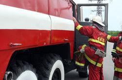 В гостиничном комплексе под Киевом вспыхнул пожар