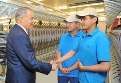 Китайцы построят в Джизаке 6 новых текстильных предприятий