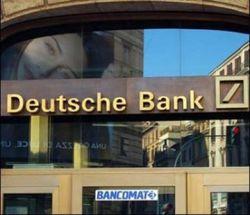 Чистая квартальная прибыль Deutsche Bank выросла на 3 процента