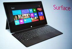 Планшеты Surface для Microsoft стали уроком