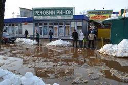 Киев: началось затопление улиц
