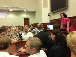 Милиция открыла уголовное дело по факту повреждения имущества Киеврады