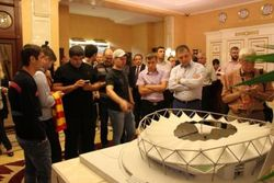 Газзаев презентовал проект нового стадиона во Владикавказе за 8 млрд. руб.