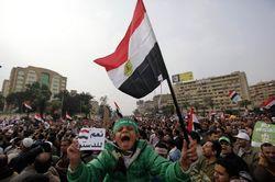Демонстрация с требованием отставки президента началась в Каире