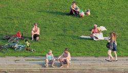 Май оказался рекордно жарким почти на всей территории России