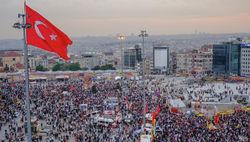 Турецкие митинговальщики заявили о продолжении сопротивления