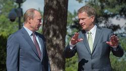 Владимира Путина увековечили в Финляндии. Но с ошибкой